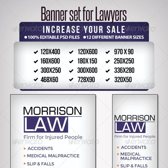 Banner Set for Lawyers