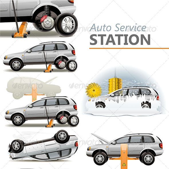 Auto Service Station