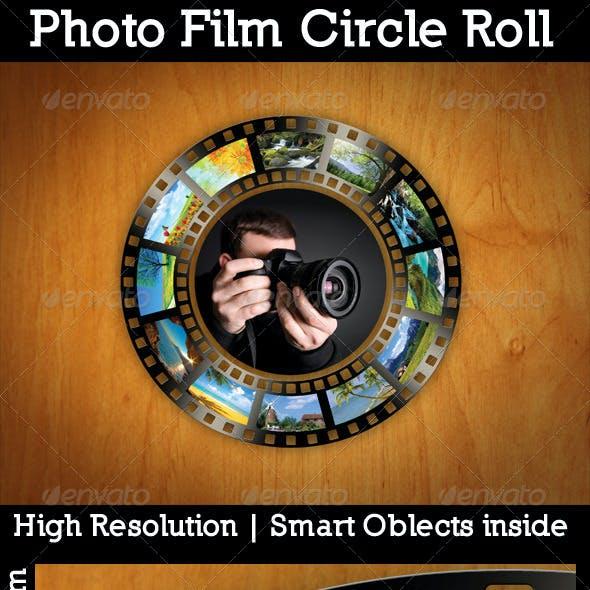 Photo Film Circle Roll