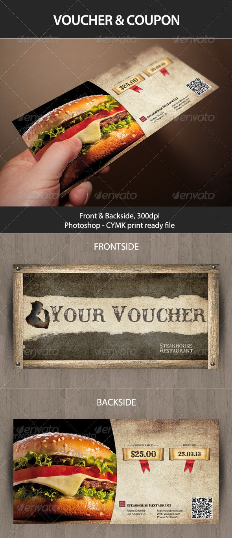 Voucher - Cards & Invites Print Templates