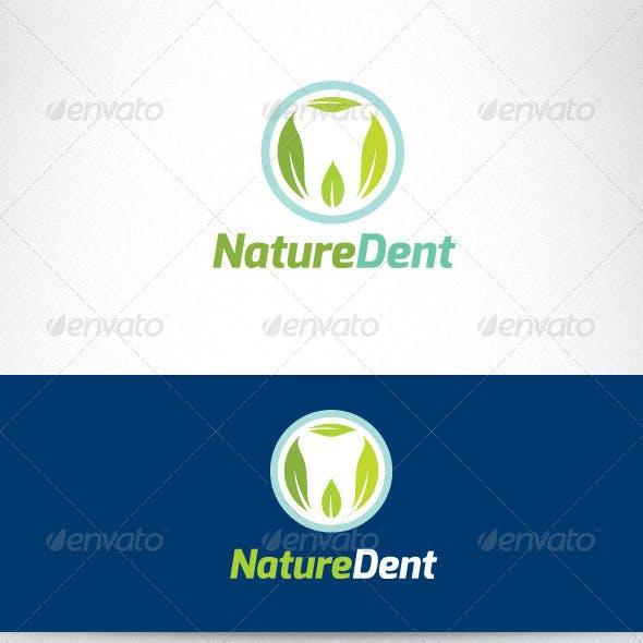 Nature Dent Care Logo Template