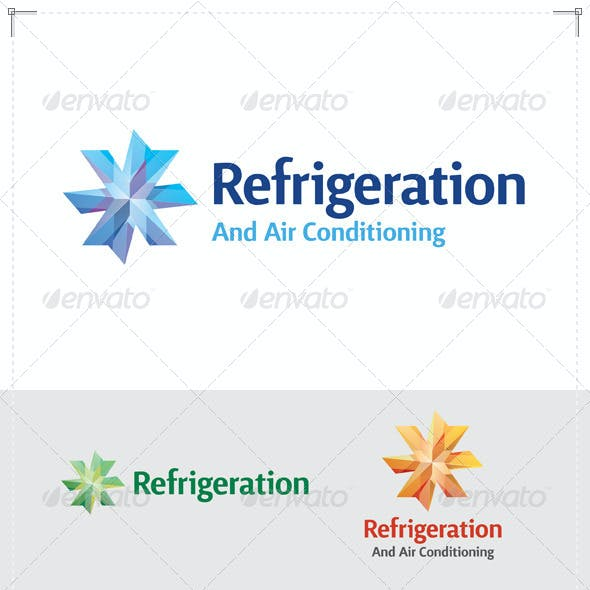 Refrigeration & Air Conditioning Logo