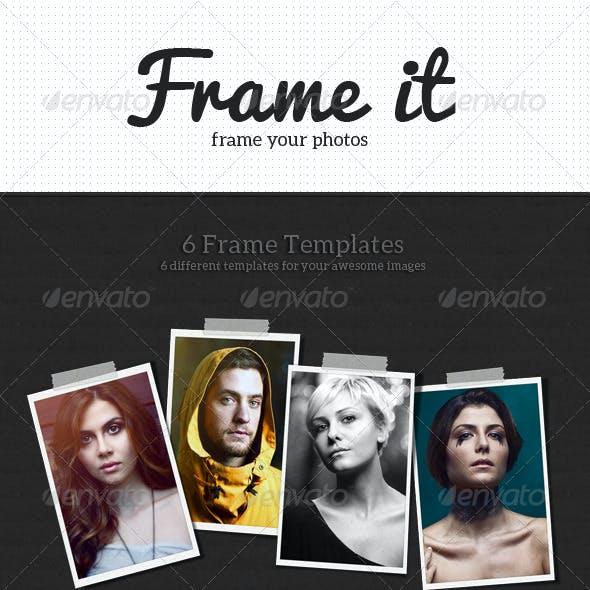 Frame It Photo Templates