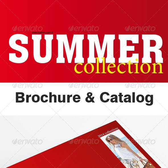 Summer Collection Brochure, Catalog