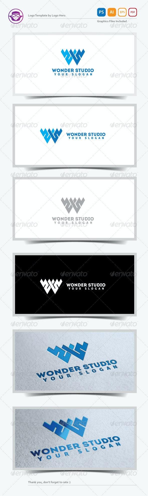 Wonder Studio Logo Template