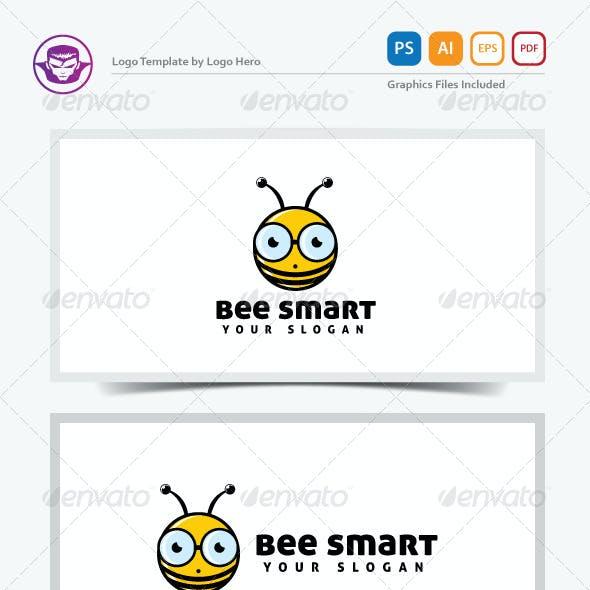 Bee Smart Logo Template