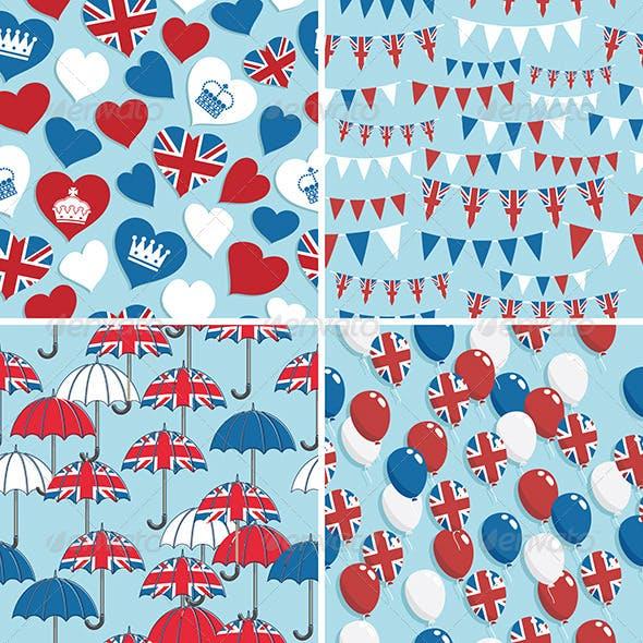 UK Seamless Patterns