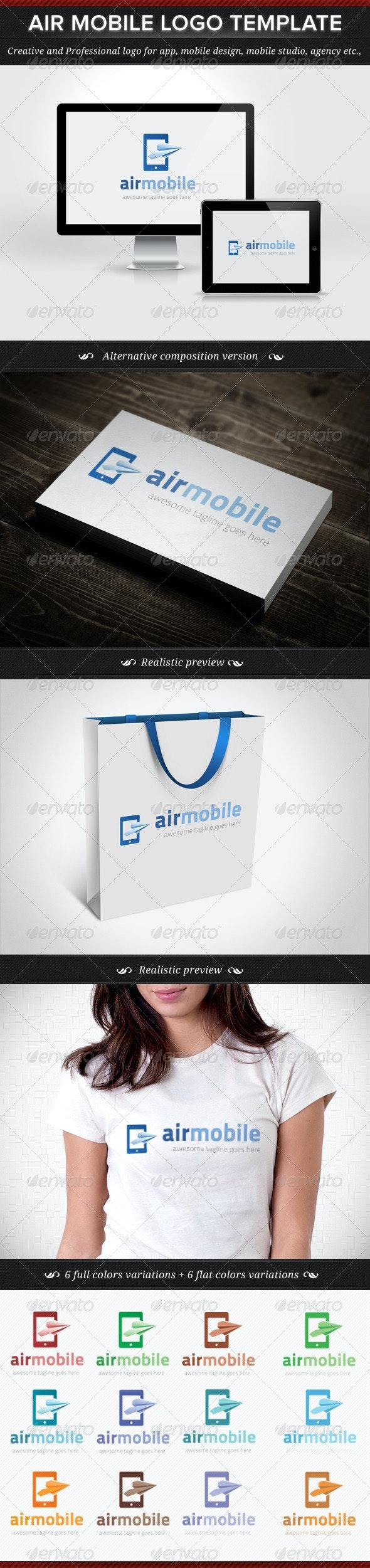 Air Mobile Logo Template