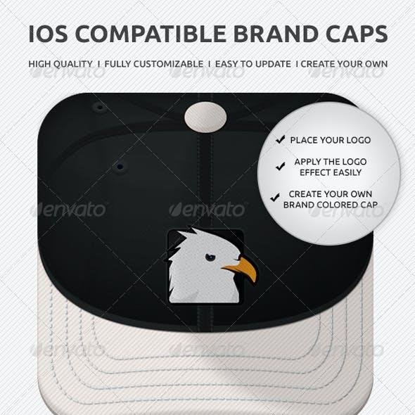 IOS Icons Brand Caps
