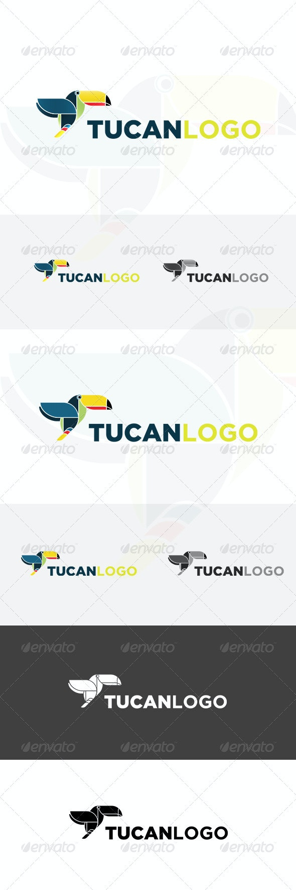 Tucan Logo - Animals Logo Templates