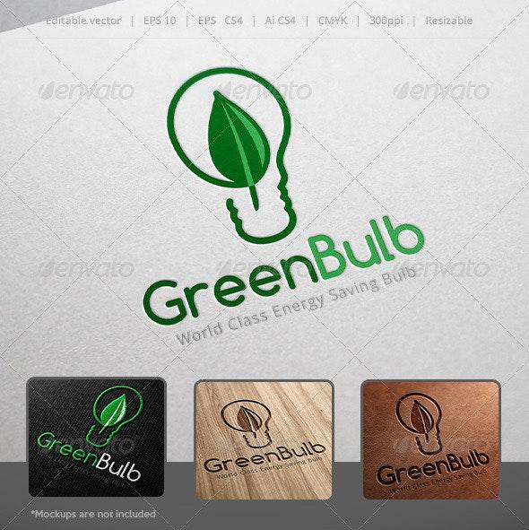 Green Bulb Logo