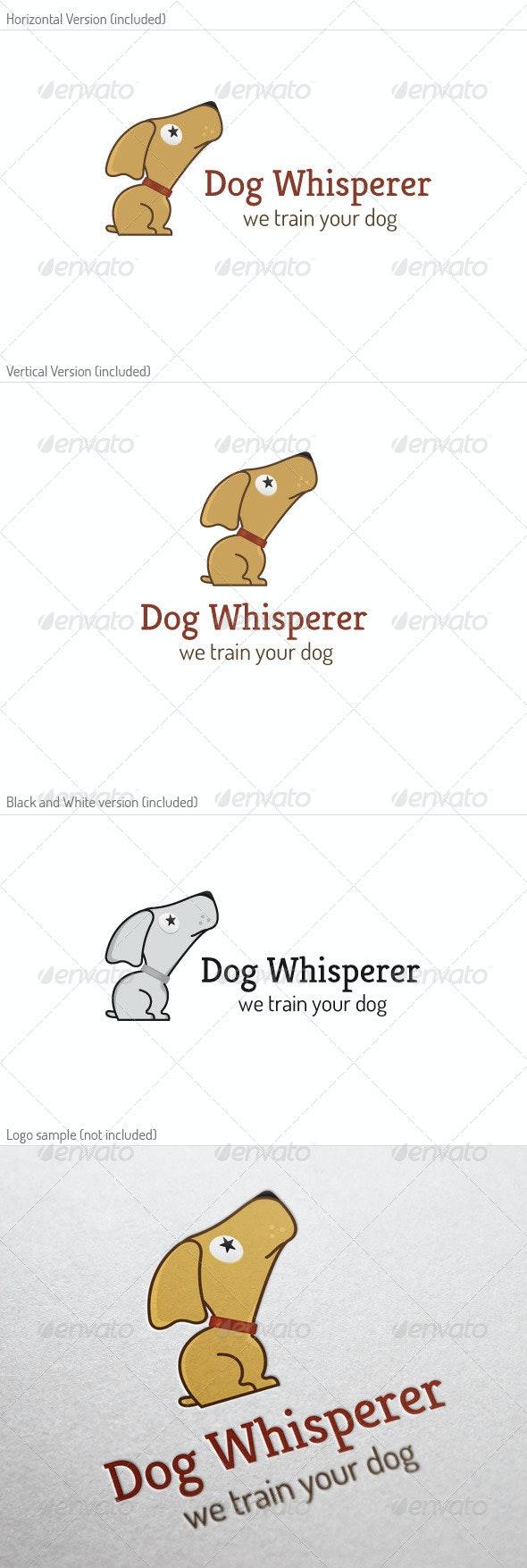 Dog Whisperer Logo - Animals Logo Templates