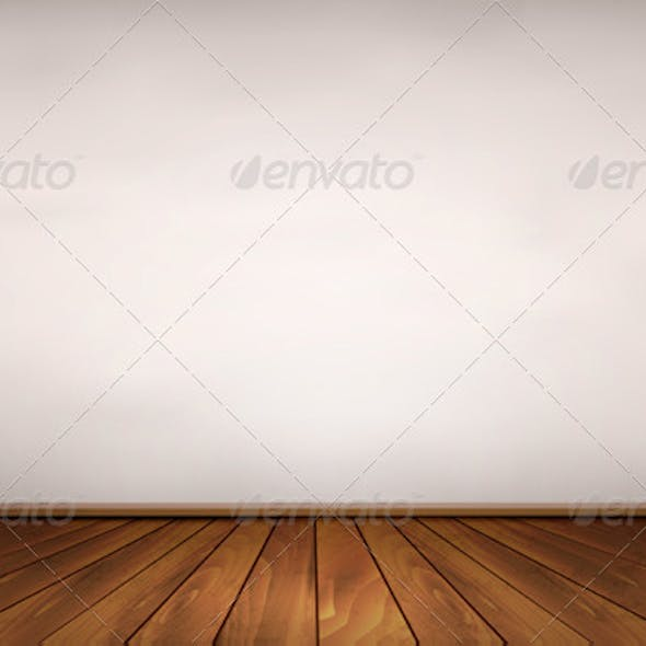Wall and a Wooden Floor