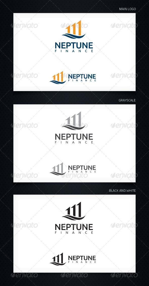 Neptune Finance - Logo Template - Symbols Logo Templates