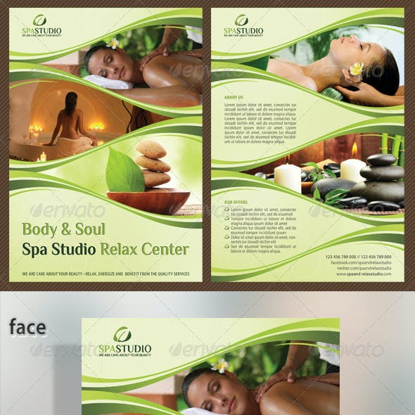 Spa Studio Flyer 05