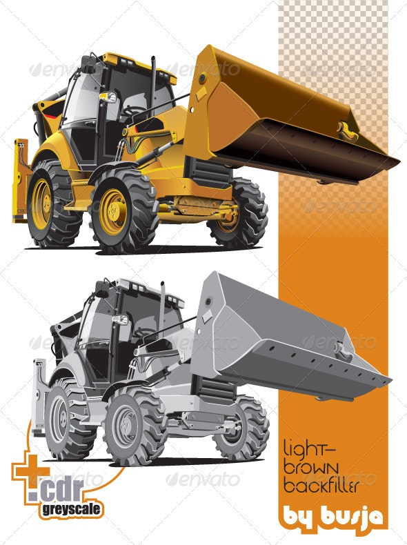 Light-brown backfiller - Industries Business