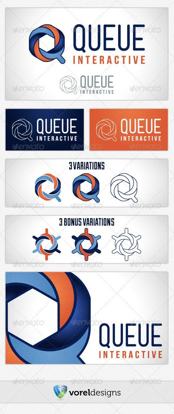 Queue Logo - Symbols Logo Templates