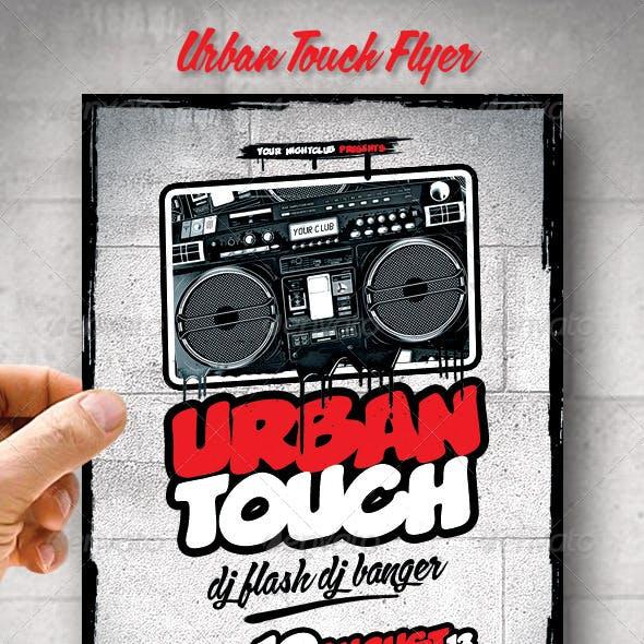 Urban Touch Flyer