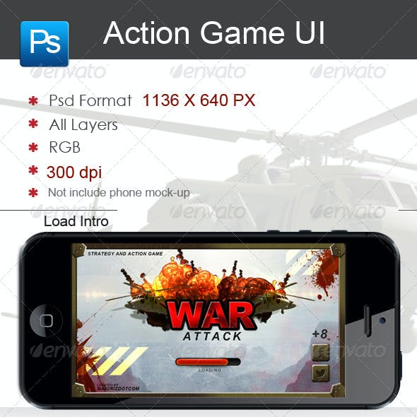 Action Ui Game Interface
