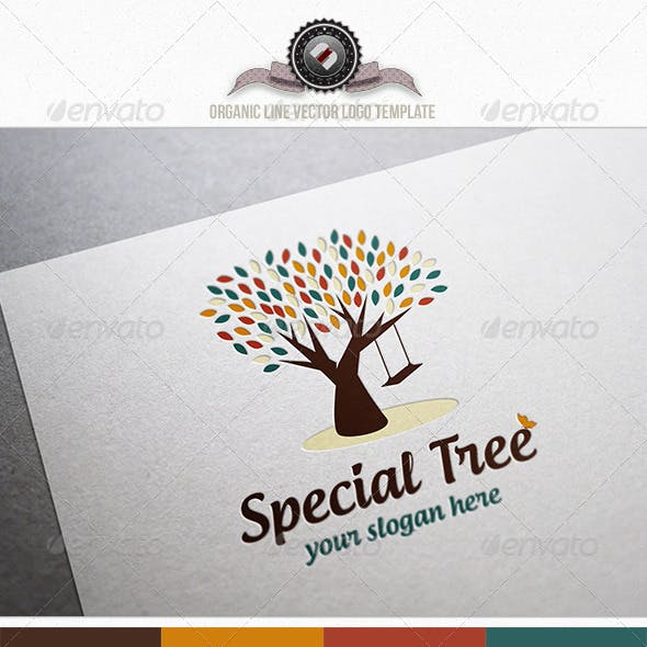 Special Tree Logo Template