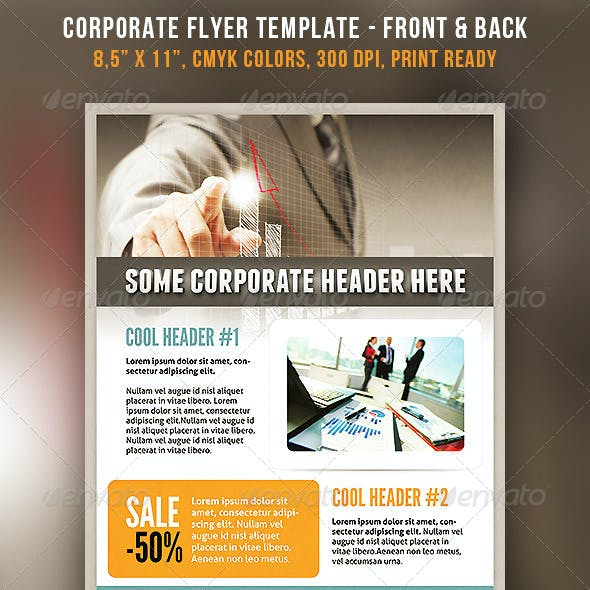 Download Corporate Flyer Template