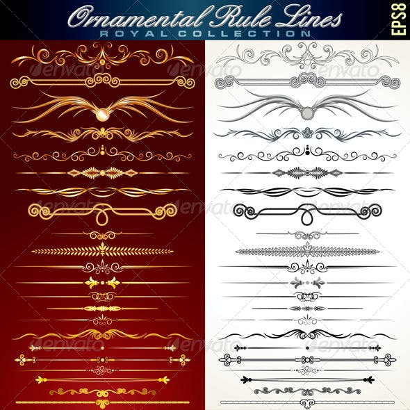 Ornamental Rule Lines