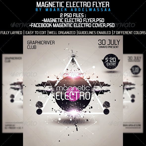 Electro Magnetic Flyer
