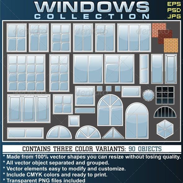 Various Modern Window Frames