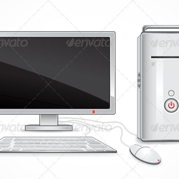Download White Computer