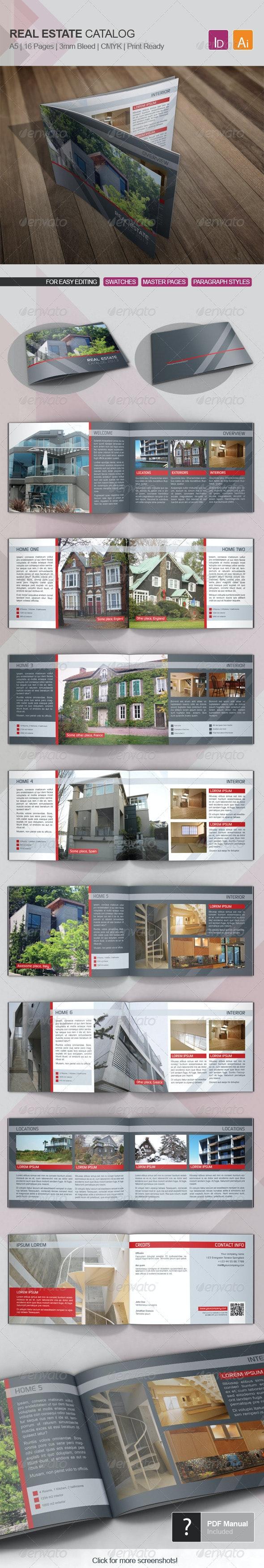 Real Estate Catalog Template 01 - Catalogs Brochures