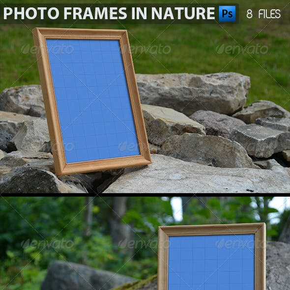Photo Frames in Nature