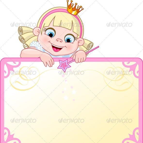 Princess Invite or Placard
