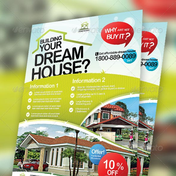 Real Estate Modern Flyers