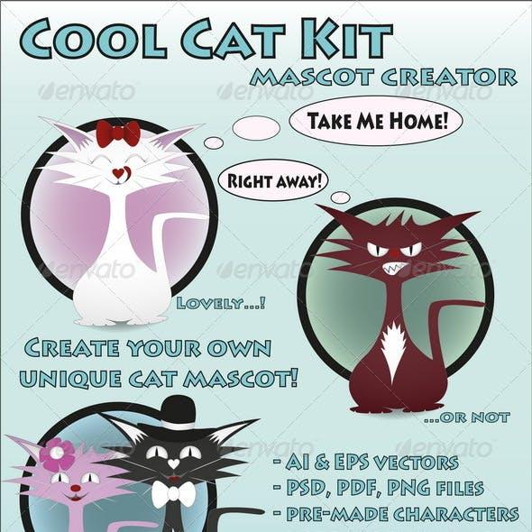 Cool Cat Kit Mascot Creator