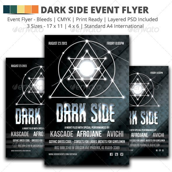 Dark Side Event Flyer