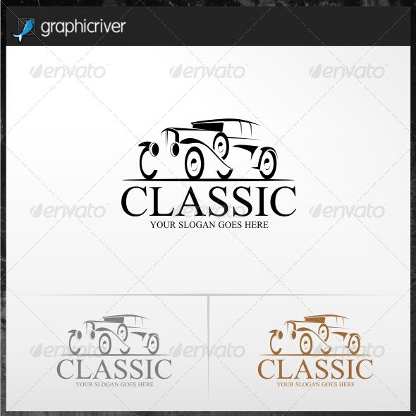 Classic Car Logo Templates