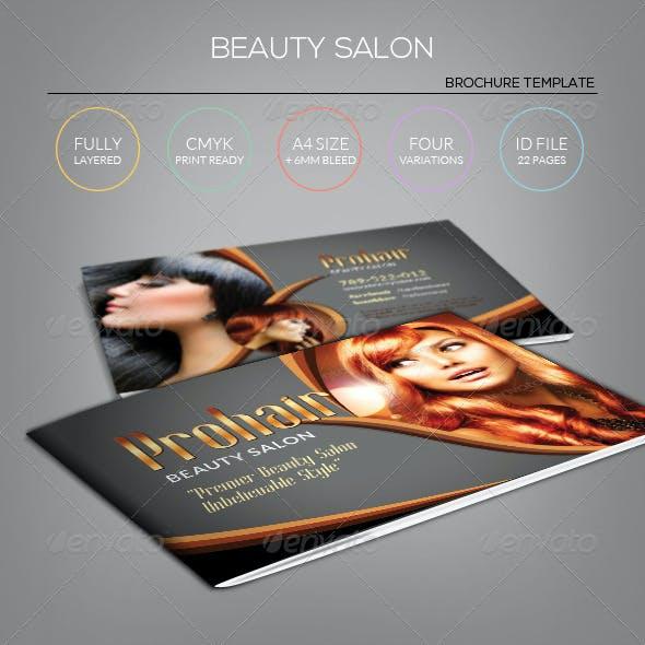 Modern Beauty Salon - Brochure Template