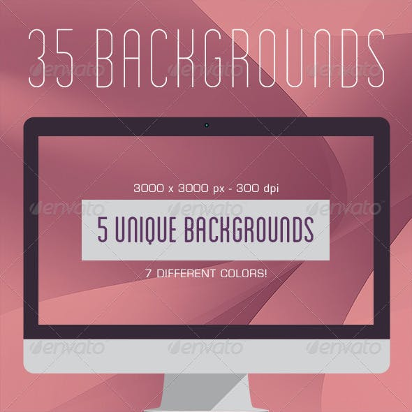 35 Soft Curves Backgrounds