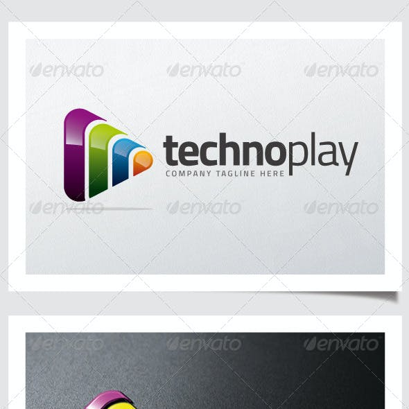Techno Play Logo