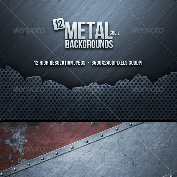 Metal Backgrounds Col2