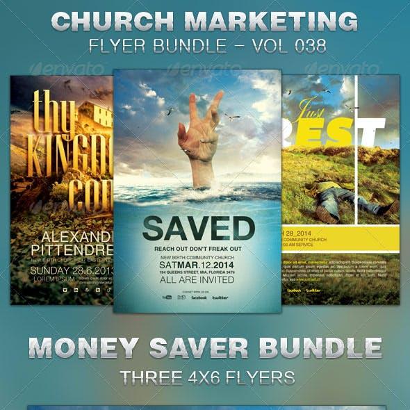 Church Marketing Flyer Bundle Vol 038