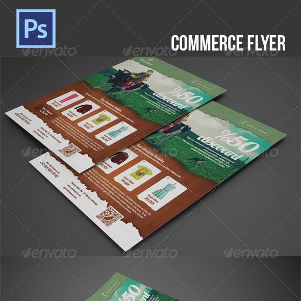 Commerce Flyer