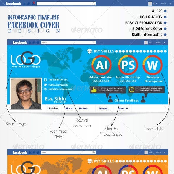 Infographic FB Timeline Cover
