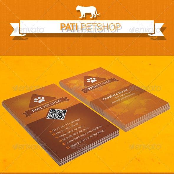 Pati - Petshop Card