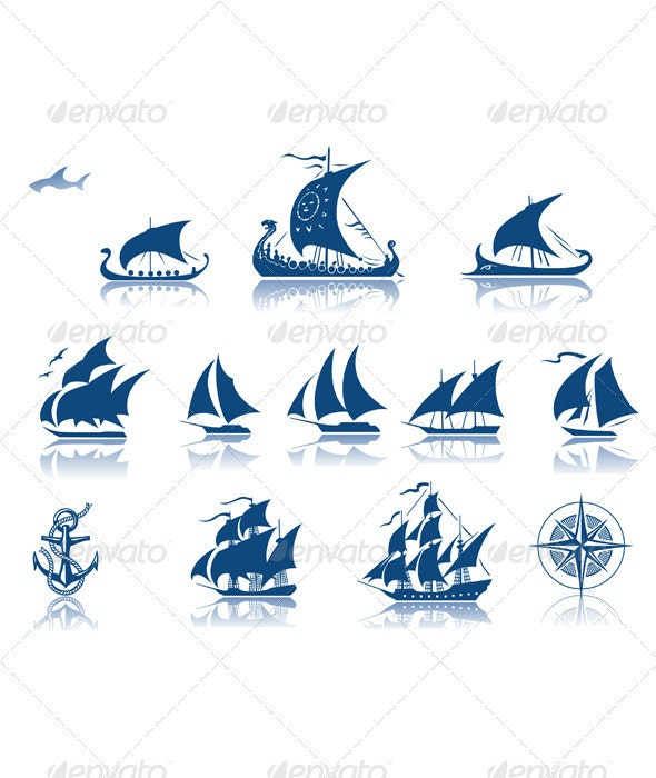 Ships of the past  iconset - Retro Technology