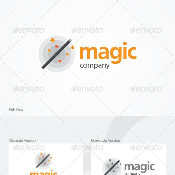 Magic Company Logo Template