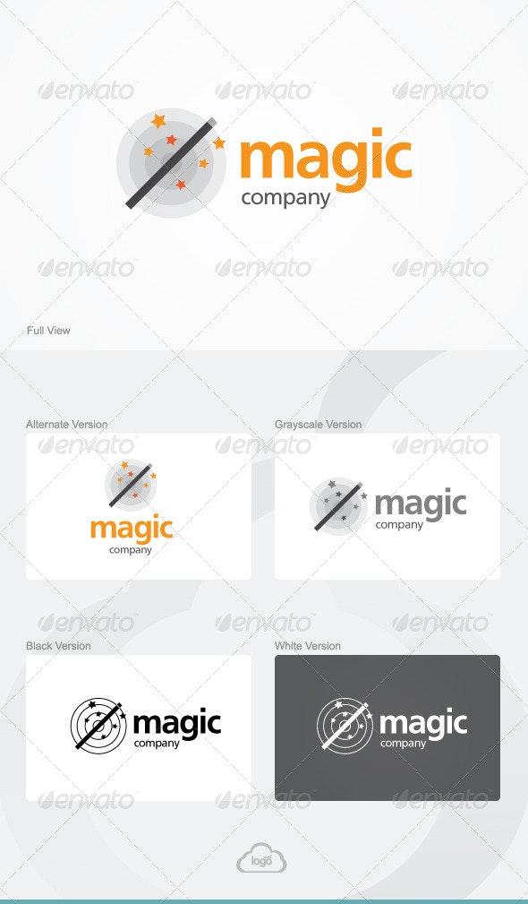 Magic Company Logo Template - Symbols Logo Templates