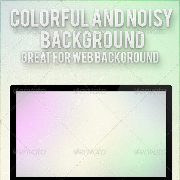 Colorful and Noisy Background