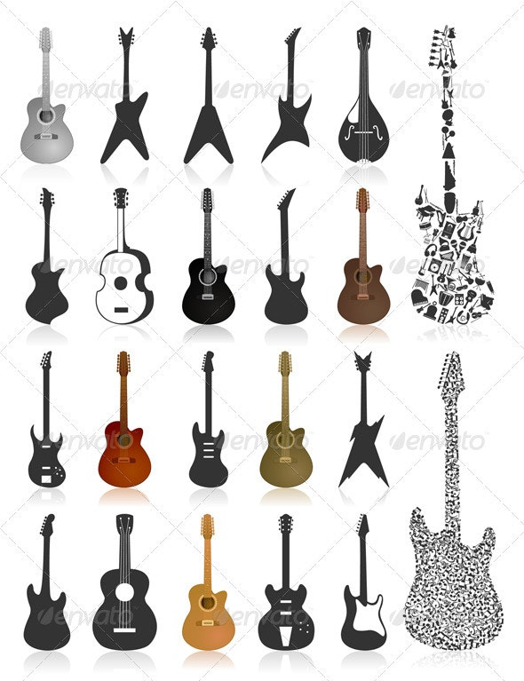 Guitar icon2 - Media Technology