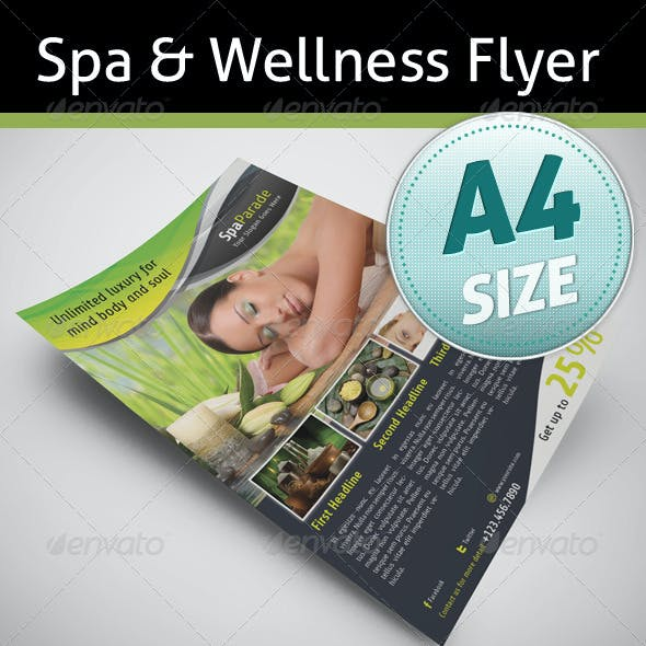 Spa & Wellness Flyer